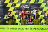 Marc Marquez, Andrea Dovizioso, Jack Miller, Monster Energy Grand Prix České republiky