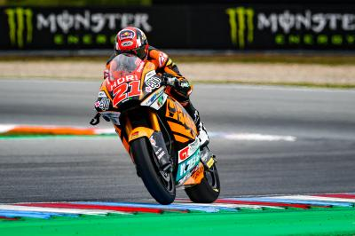 Di Giannantonio starts Sunday on top in Moto2™ Warm Up