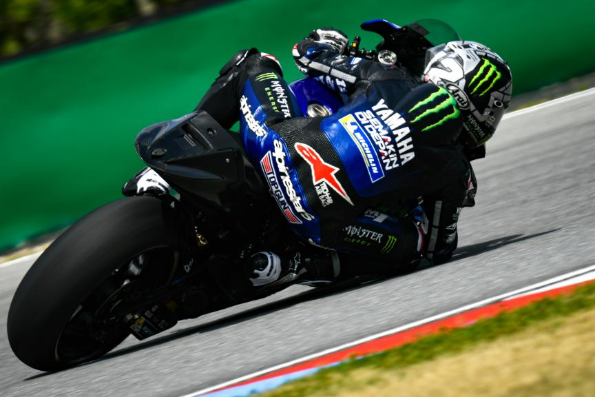 Maverick Viñales, Monster Energy Yamaha MotoGP, Brno MotoGP™ Test