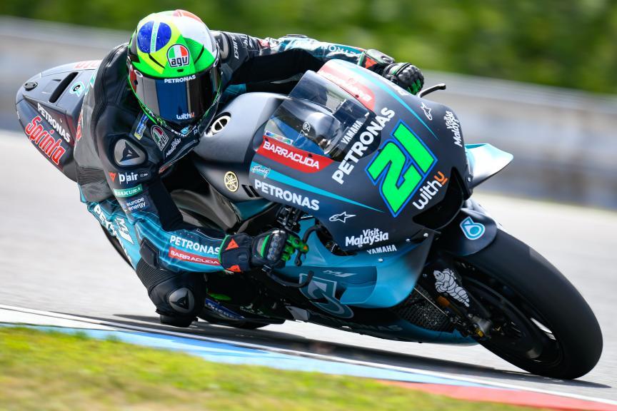 Franco Morbidelli, Petronas Yamaha SRT, Brno MotoGP™ Test