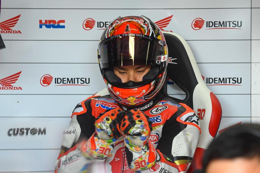 Takaaki Nakagami, LCR Honda Idemitsu, Brno MotoGP™ Test