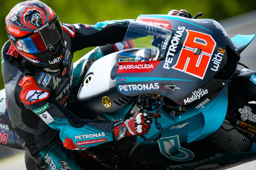 Fabio Quartararo, Petronas Yamaha SRT, Brno MotoGP™ Test