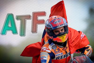 After the Flag: 50 volte Marquez