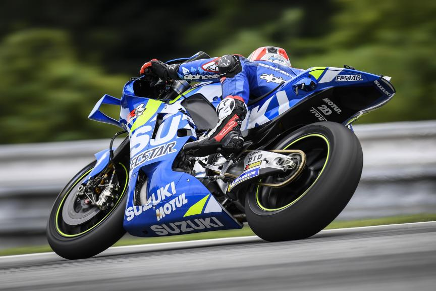 Alex Rins, Team Suzuki Ecstar, Brno MotoGP™ Test