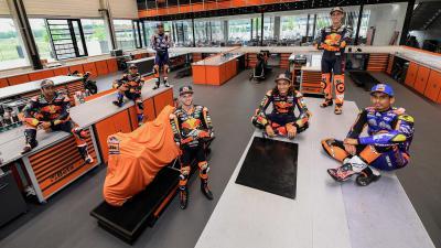 KTM-Fahrer machen sich für Spielberg bereit