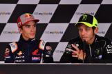 Marc Marquez, Valentino Rossi, myWorld Motorrad Grand Prix von Österreich
