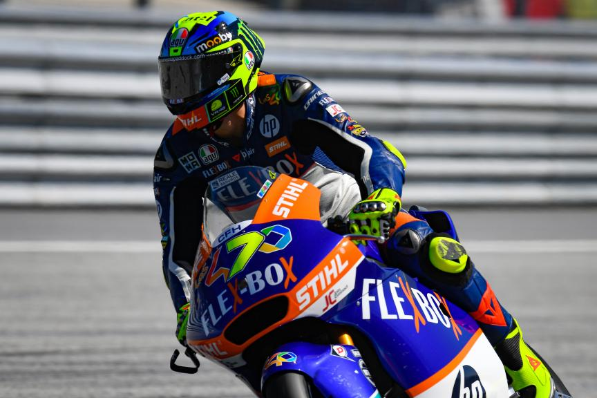 Lorenzo Baldassarri, Flex-Box HP40, myWorld Motorrad Grand Prix von Österreich