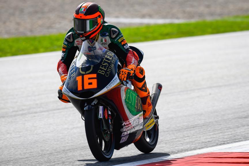 Andrea Migno, Bester Capital Dubai, myWorld Motorrad Grand Prix von Österreich