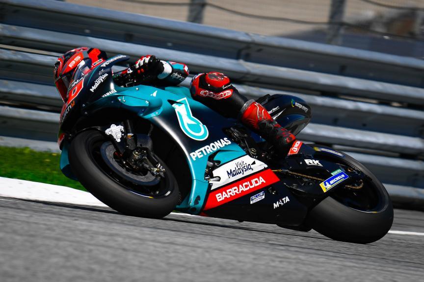 Fabio Quartararo, Petronas Yamaha SRT, myWorld Motorrad Grand Prix von Österreich