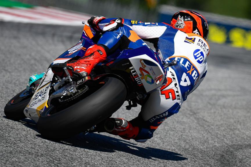 Augusto Fernandez, Flex-Box HP40, myWorld Motorrad Grand Prix von Österreich
