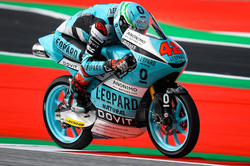 Marcos Ramirez, Leopard Racing, myWorld Motorrad Grand Prix von Österreich