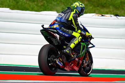 Rossi misses Top Ten by 0.05 on Friday in Austria