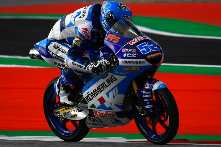 Jeremy Alcoba, Kőmmerling Gresini Moto3, myWorld Motorrad Grand Prix von Österreich