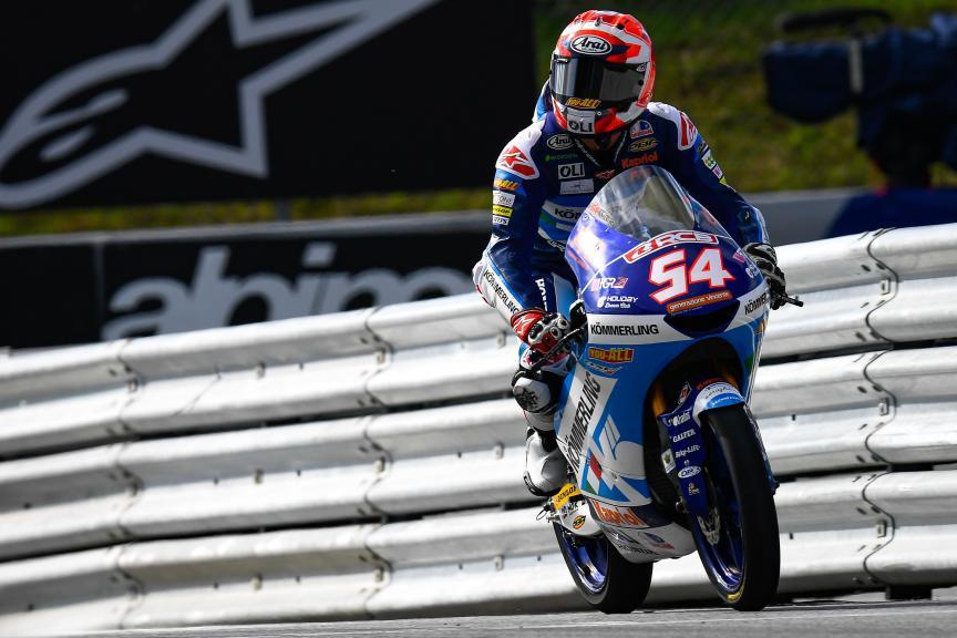Riccardo Rossi, Kőmmerling Gresini Moto3, myWorld Motorrad Grand Prix von Österreich