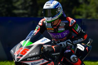 Tuuli and Smith split by 0.072 in MotoE™ FP1
