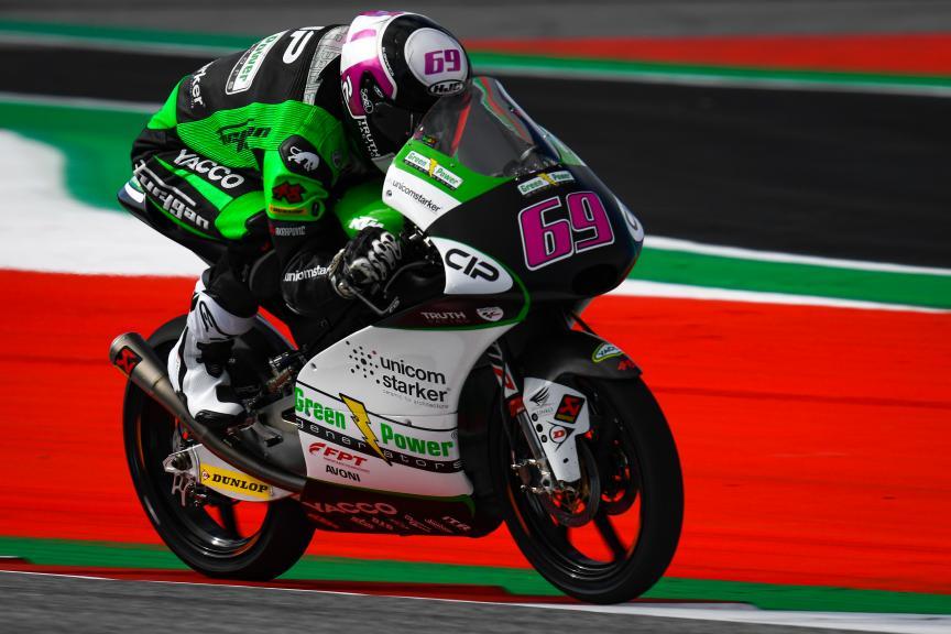Tom Booth-Amos, CIP Green Power, myWorld Motorrad Grand Prix von Österreich