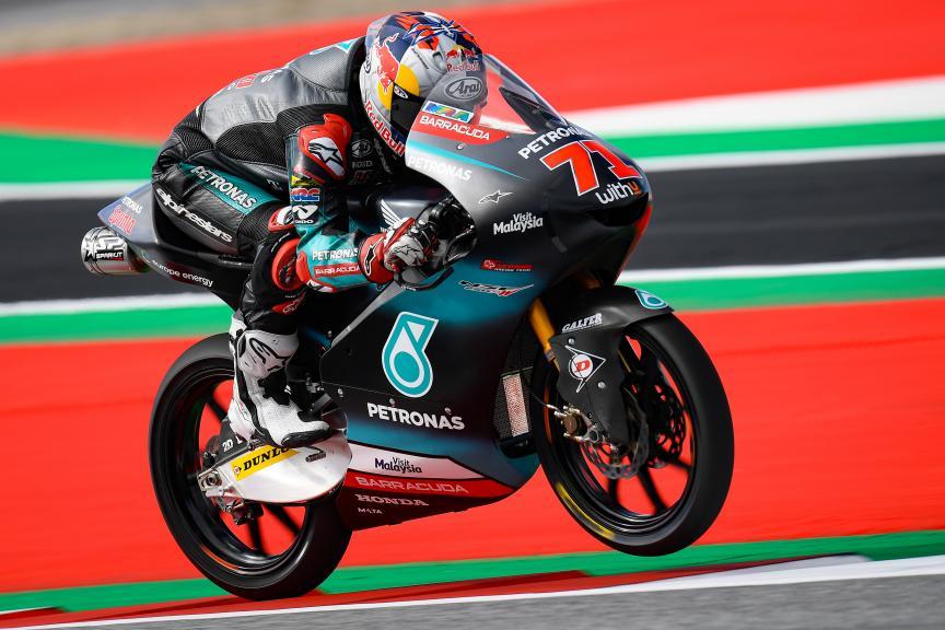 Ayumu Sasaki, Petronas Sprinta Racing, myWorld Motorrad Grand Prix von Österreich