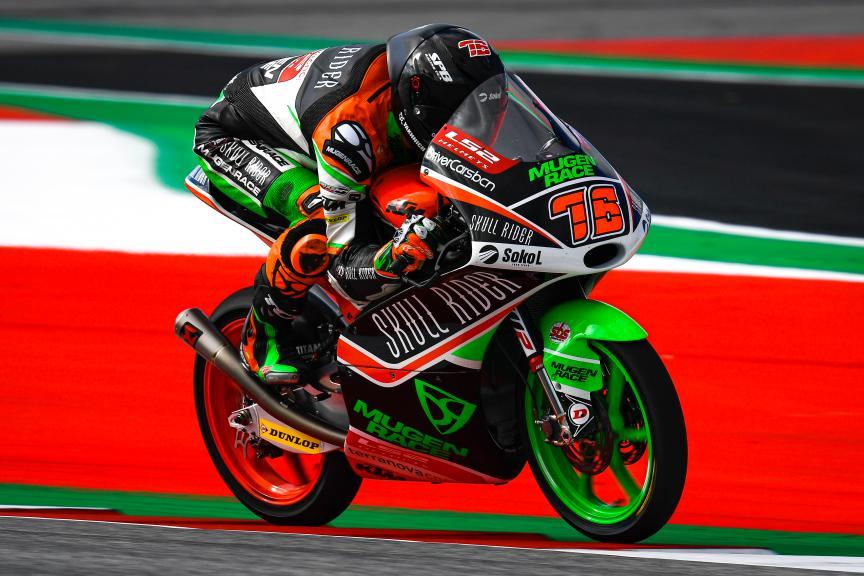 Makar Yurchenko, Boe Skull Rider Mugen Race, myWorld Motorrad Grand Prix von Österreich