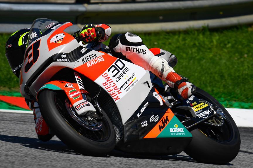 Lukas Tulovic, Kiefer Racing, myWorld Motorrad Grand Prix von Österreich