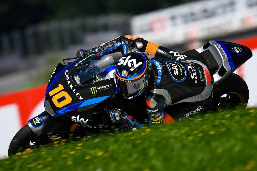 Luca Marini, Sky Racing Team VR46, myWorld Motorrad Grand Prix von Österreich