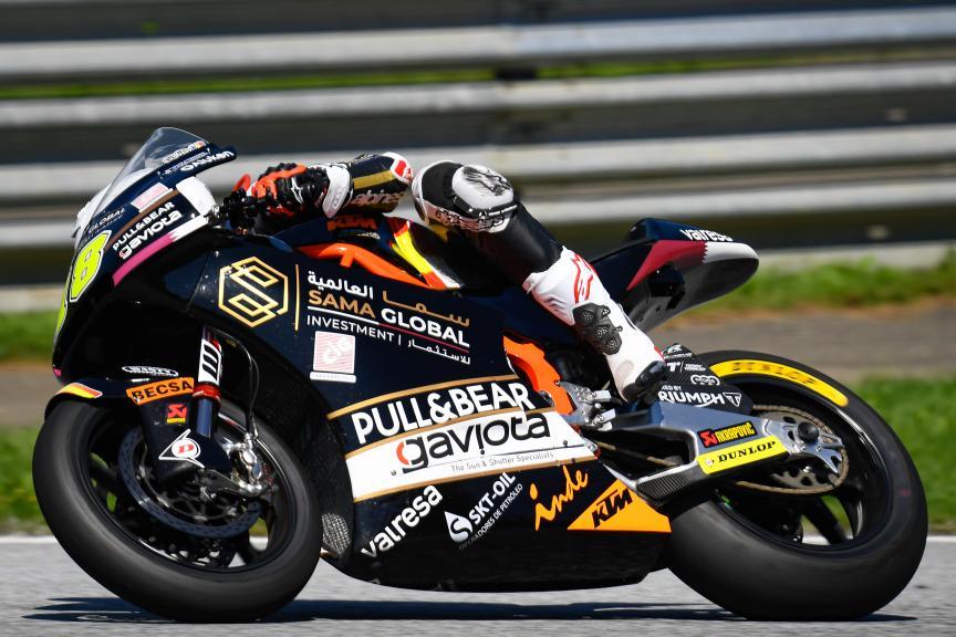 Xavier Cardelus, Sama Qatar Angel Nieto Team, myWorld Motorrad Grand Prix von Österreich