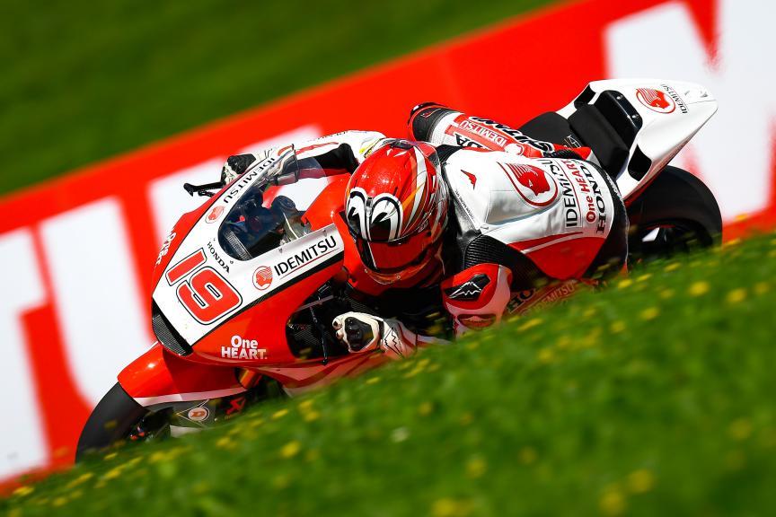 Teppei Nagoe, Idemitsu Honda Team Asia, myWorld Motorrad Grand Prix von Österreich