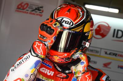 Nakagami not looking for results but to give 100%