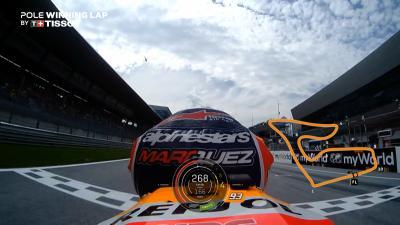 OnBoard : La pole de Márquez au Red Bull Ring !