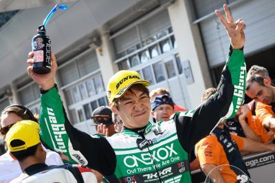 Moto2™ - Spielberg : Pole pour Nagashima, Chantra troisième