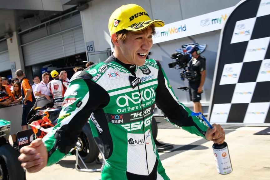Tetsuta Nagashima, Onexox TKKR SAG Team, myWorld Motorrad Grand Prix von Österreich