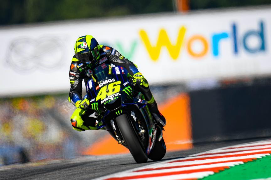 Valentino Rossi, Monster Energy Yamaha MotoGP, myWorld Motorrad Grand Prix von Österreich