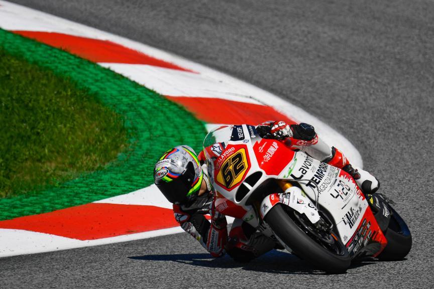 Stefano Manzi, MV Augusta Temporary Forward, myWorld Motorrad Grand Prix von Österreich