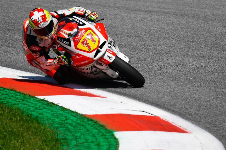 Dominique Aegerter, MV Augusta Temporary Forward, myWorld Motorrad Grand Prix von Österreich