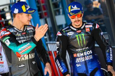 Quartararo à armes égales avec Rossi et Viñales en 2020 ?