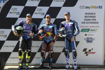 Who is our MotoE™ E-Pole sitter in Austria?