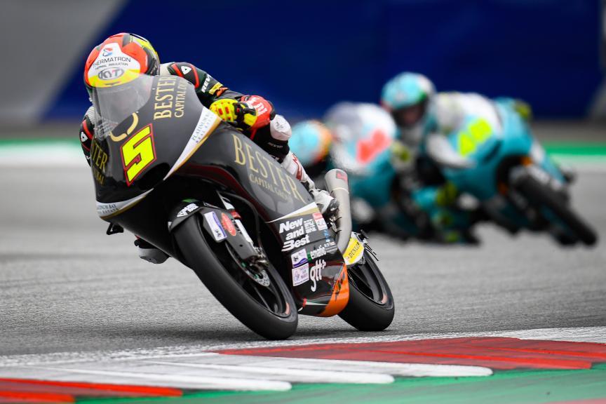 Jaume Masia, Bester Capital Dubai, myWorld Motorrad Grand Prix von Österreich