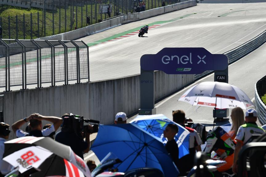 Niccolo Canepa, LCR E-Team, myWorld Motorrad Grand Prix von Österreich