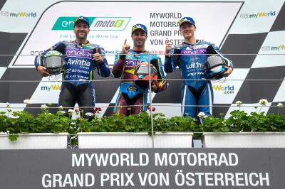 MotoE™ - 'Magic Mike' wins a thrilling race to lead the Cup