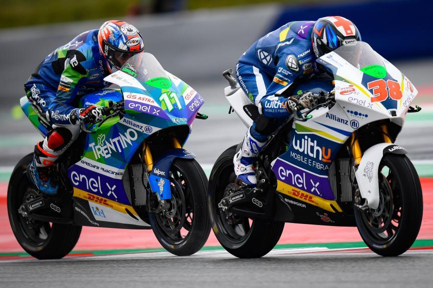 Matteo Ferrari, Bradley Smith, myWorld Motorrad Grand Prix von Österreich