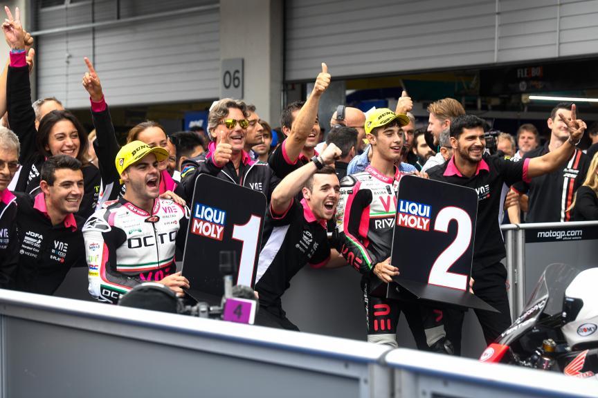 Romano Fenati, Tony Arbolino, VNE Snipers Team, myWorld Motorrad Grand Prix von Österreich