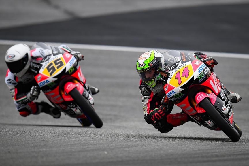 Tony Arbolino, Romano Fenati, VNE Snipers Team, myWorld Motorrad Grand Prix von Österreich