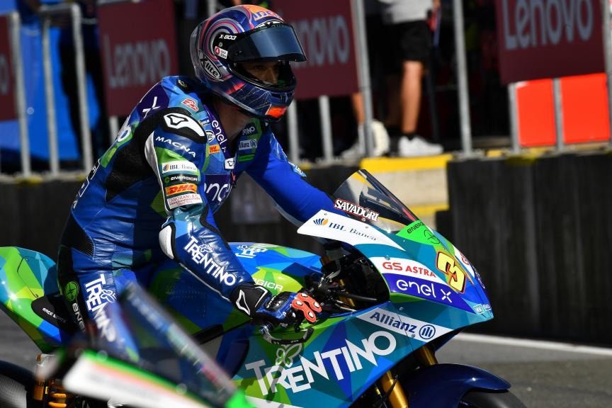 Lorenzo Savadori, Trentino Gresini MotoE, myWorld Motorrad Grand Prix von Österreich