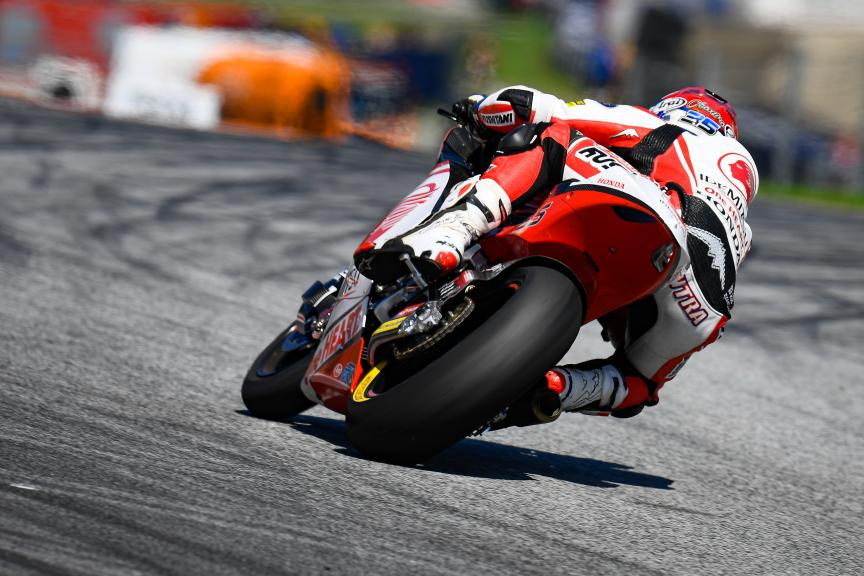 Somkiat Chantra, Idemitsu Honda Team Asia, myWorld Motorrad Grand Prix von Österreich