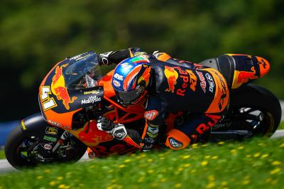 Austrian ecstasy as Binder earns KTM home Moto2™ win