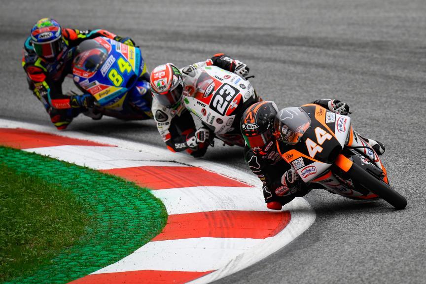 Aron Canet, Sterilgarda Max Racing Team, myWorld Motorrad Grand Prix von Österreich