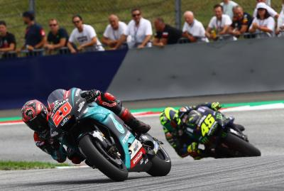 Rossi explains why Quartararo is so strong on the Yamaha
