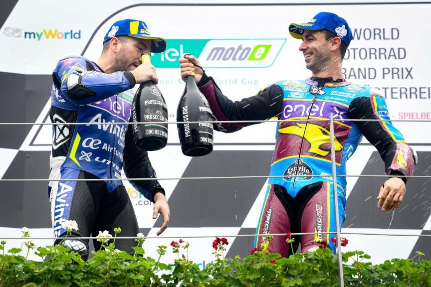 Mike Di Meglio, Xavier Simeon, myWorld Motorrad Grand Prix von Österreich