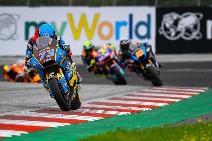 Alex Marquez, EG 0,0 Marc Vds, myWorld Motorrad Grand Prix von Österreich