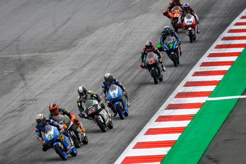 Moto3, myWorld Motorrad Grand Prix von Österreich
