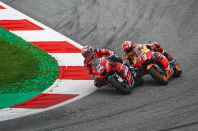 Marquez, did you expect Dovi to overtake there?